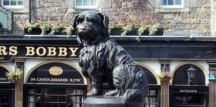 Greyfriars Bobby en Edimburgo