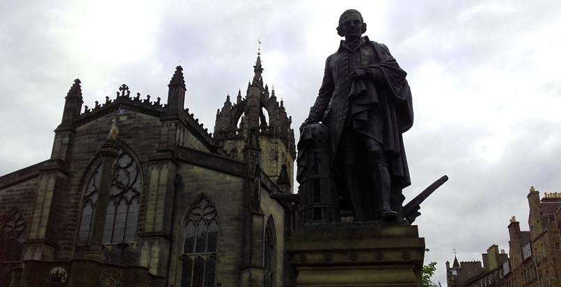 La Catedral de Saint Giles en Edimburgo