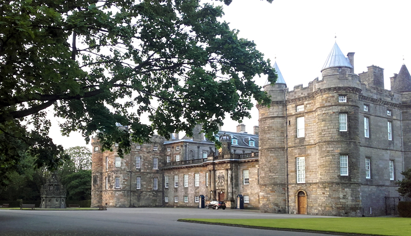 Palacio de Holyrood en Edimburgo