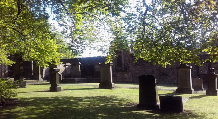 Edinburgh - Canongate Kirkyard