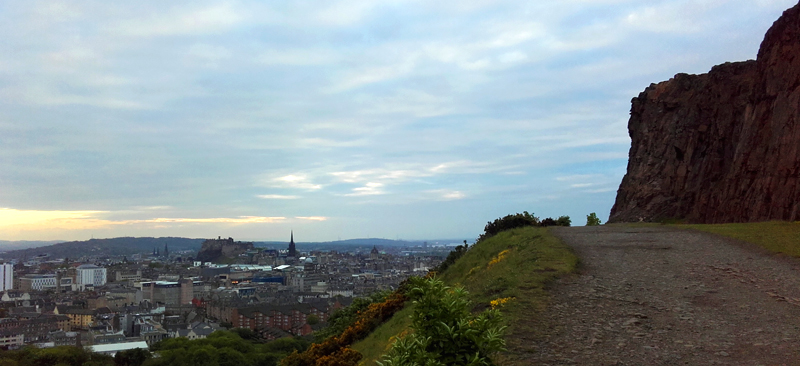 Views from Holyrood Park