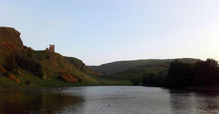 Edinburgh - St Margaret's Loch