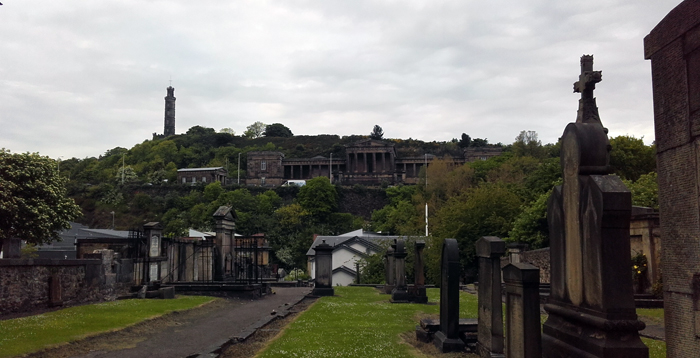 Edinburgh - Old Calton Burial Ground