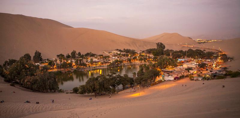 Perú - Oasis Huacachina