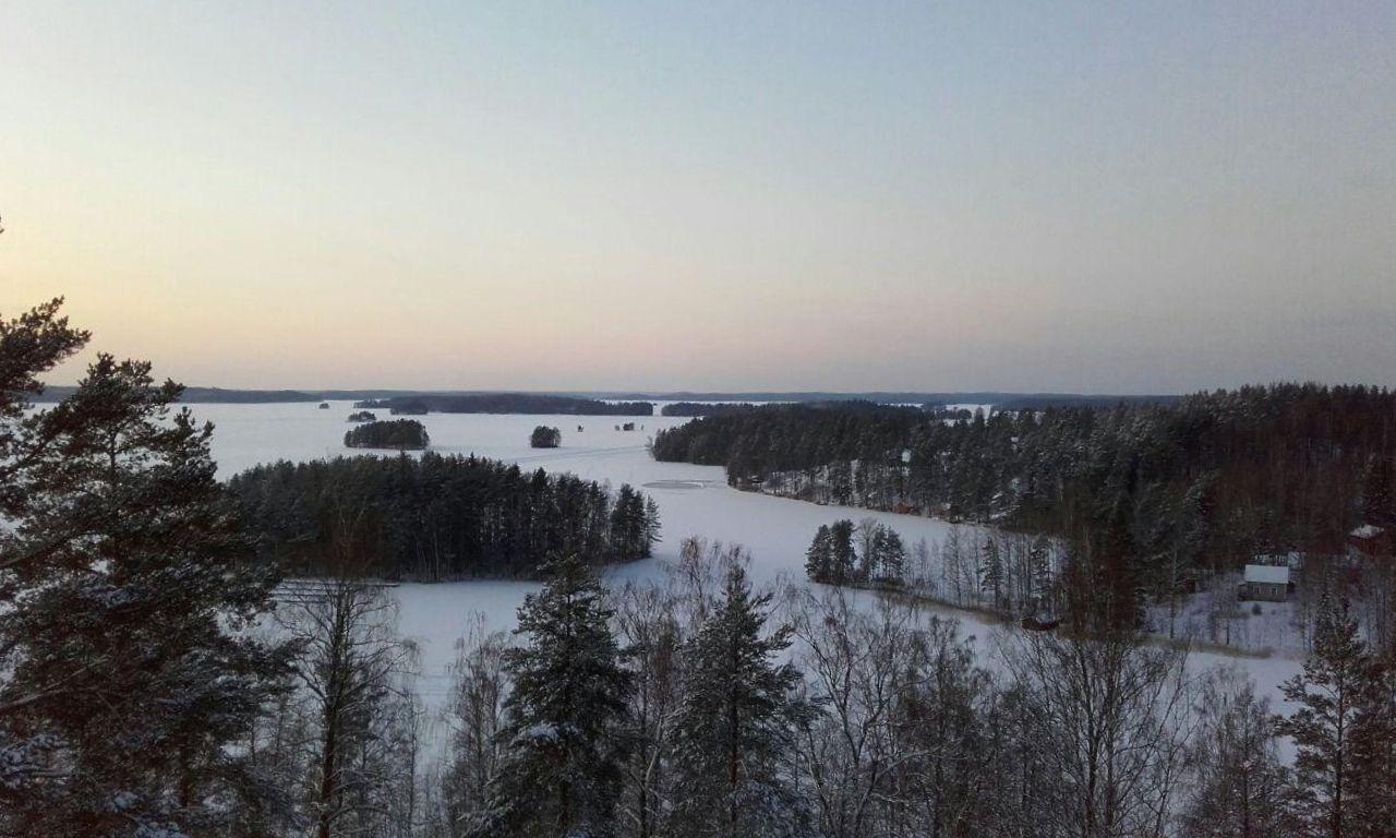 Lago Kuolimo desde la torre