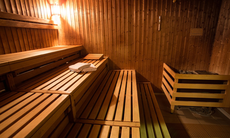 Sauna casera