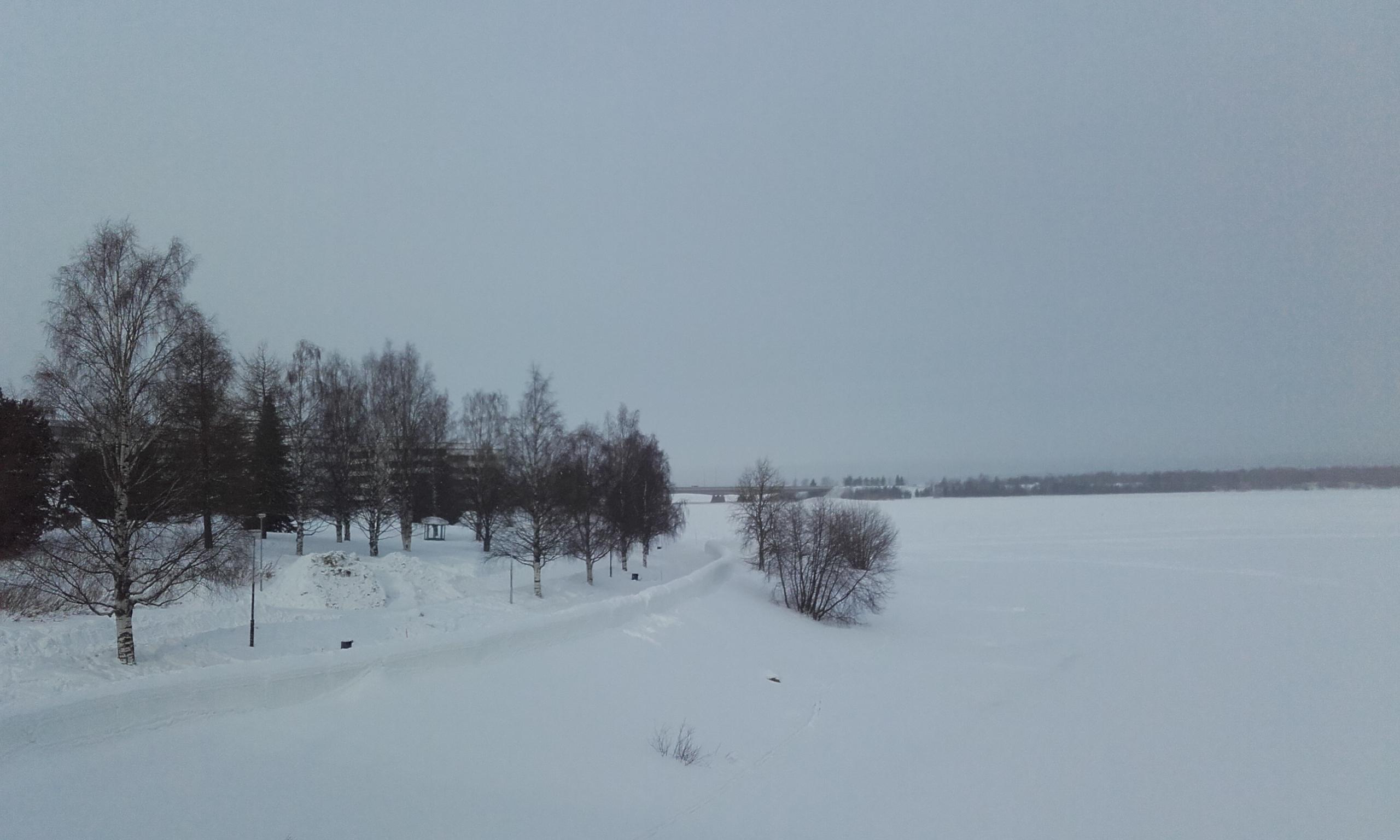 Río en Rovaniemi