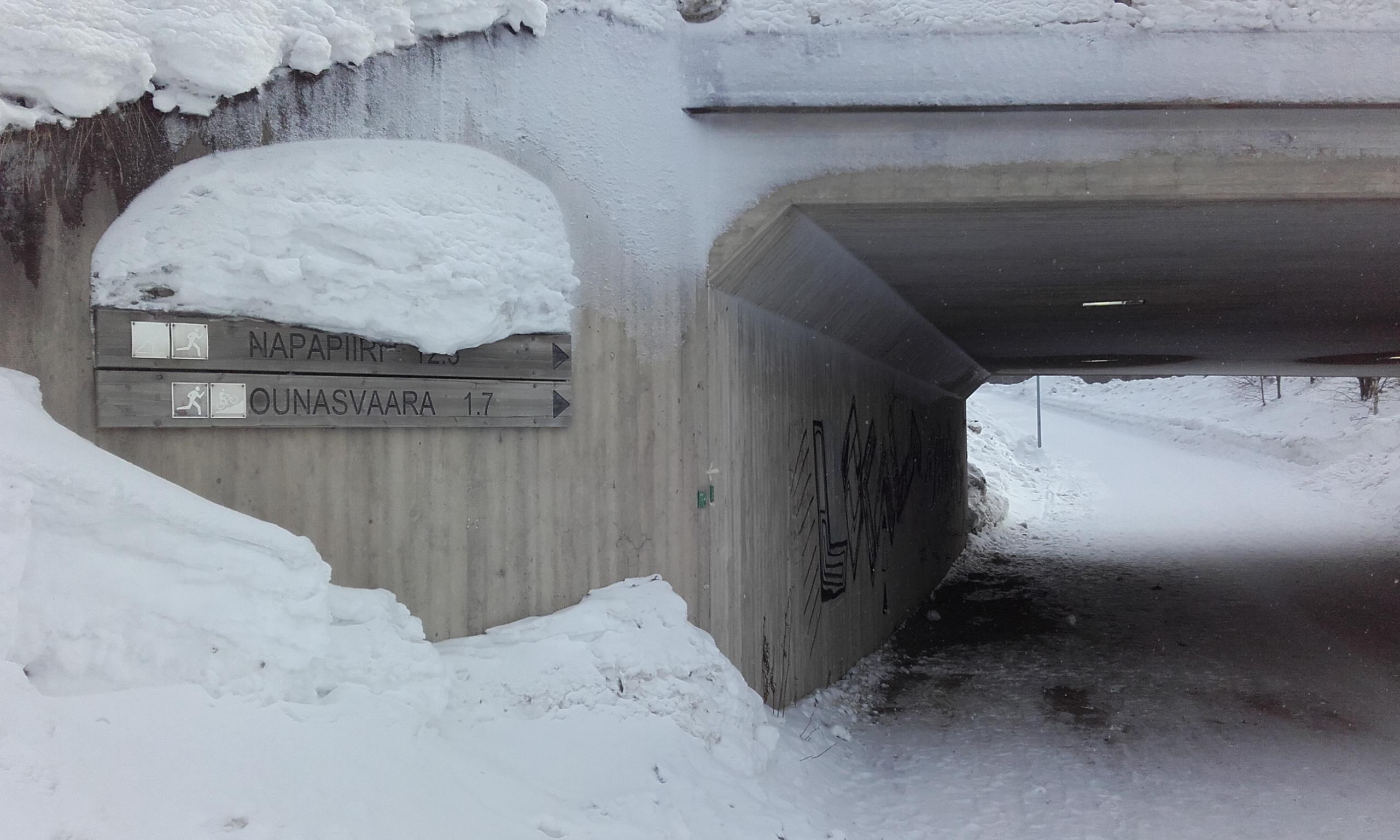 Indicaciones para llegar a Ounasvaara