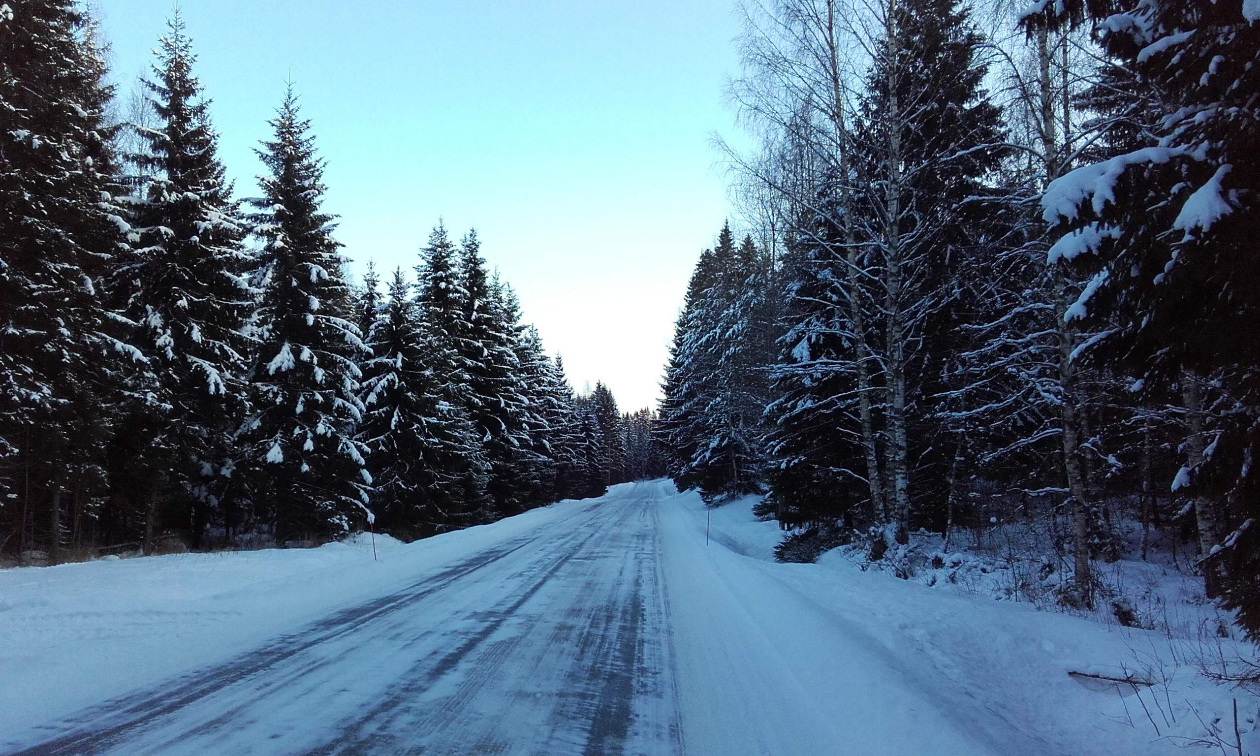 Carretera desde Kärnäkoski