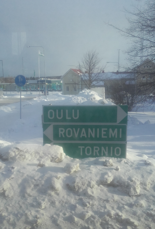 Autobús a Rovaniemi