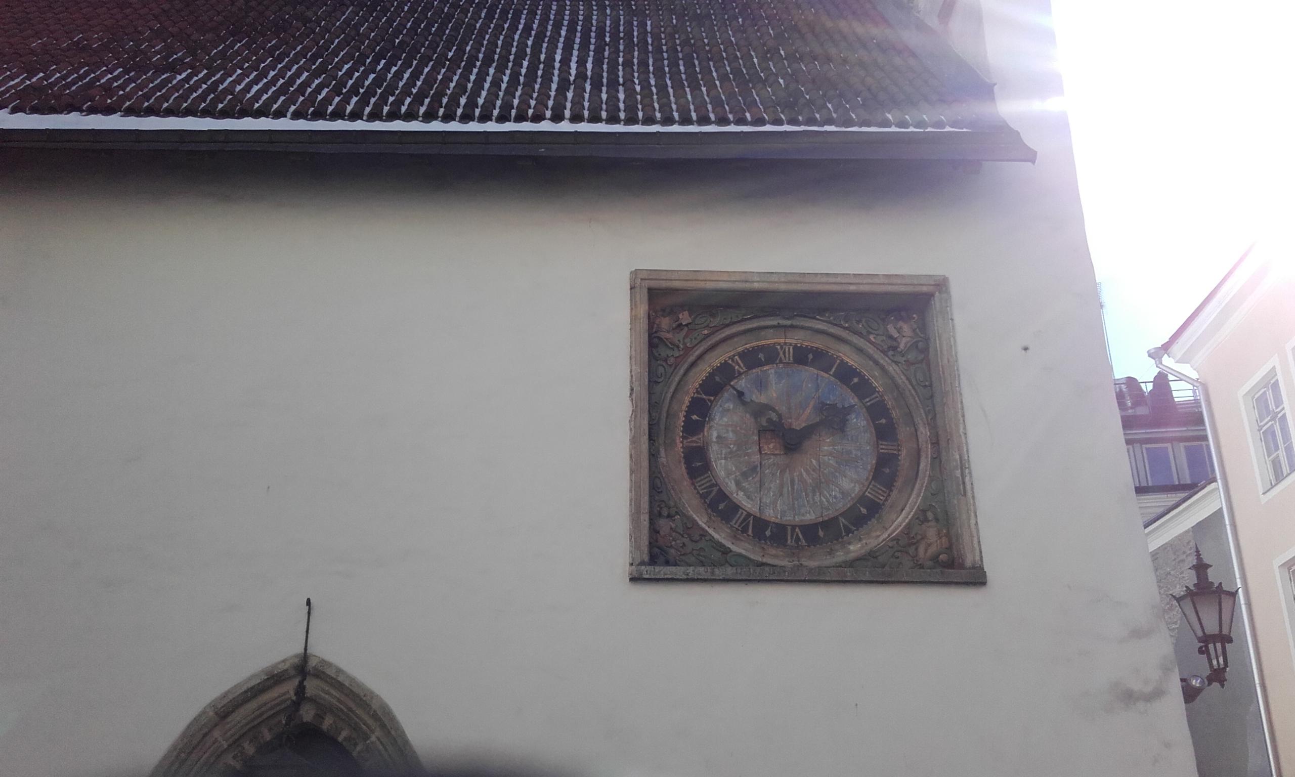 Reloj de Tallín