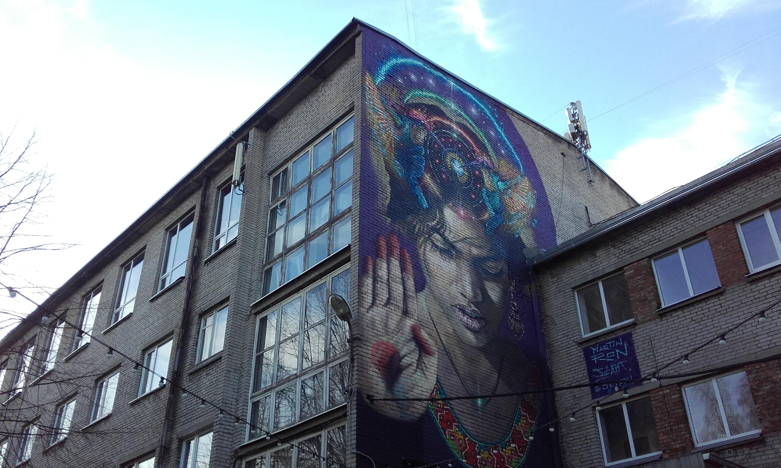 Arte urbano en Telliskivi
