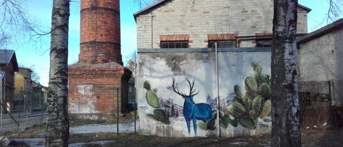 Grafiti en Telliskivi