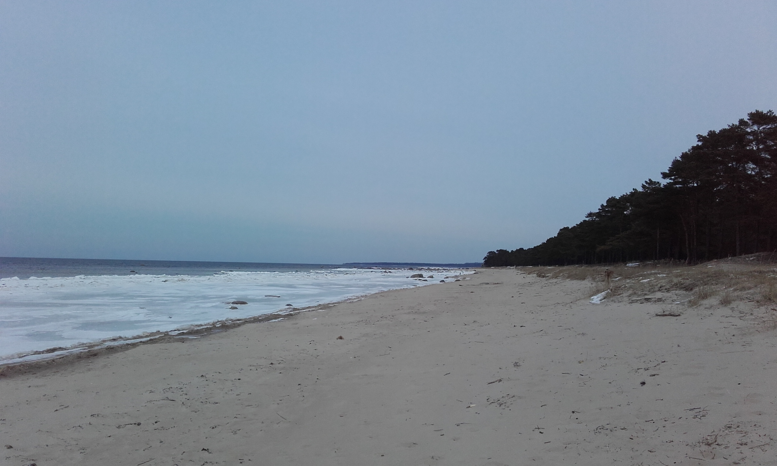 Playa junto al parque