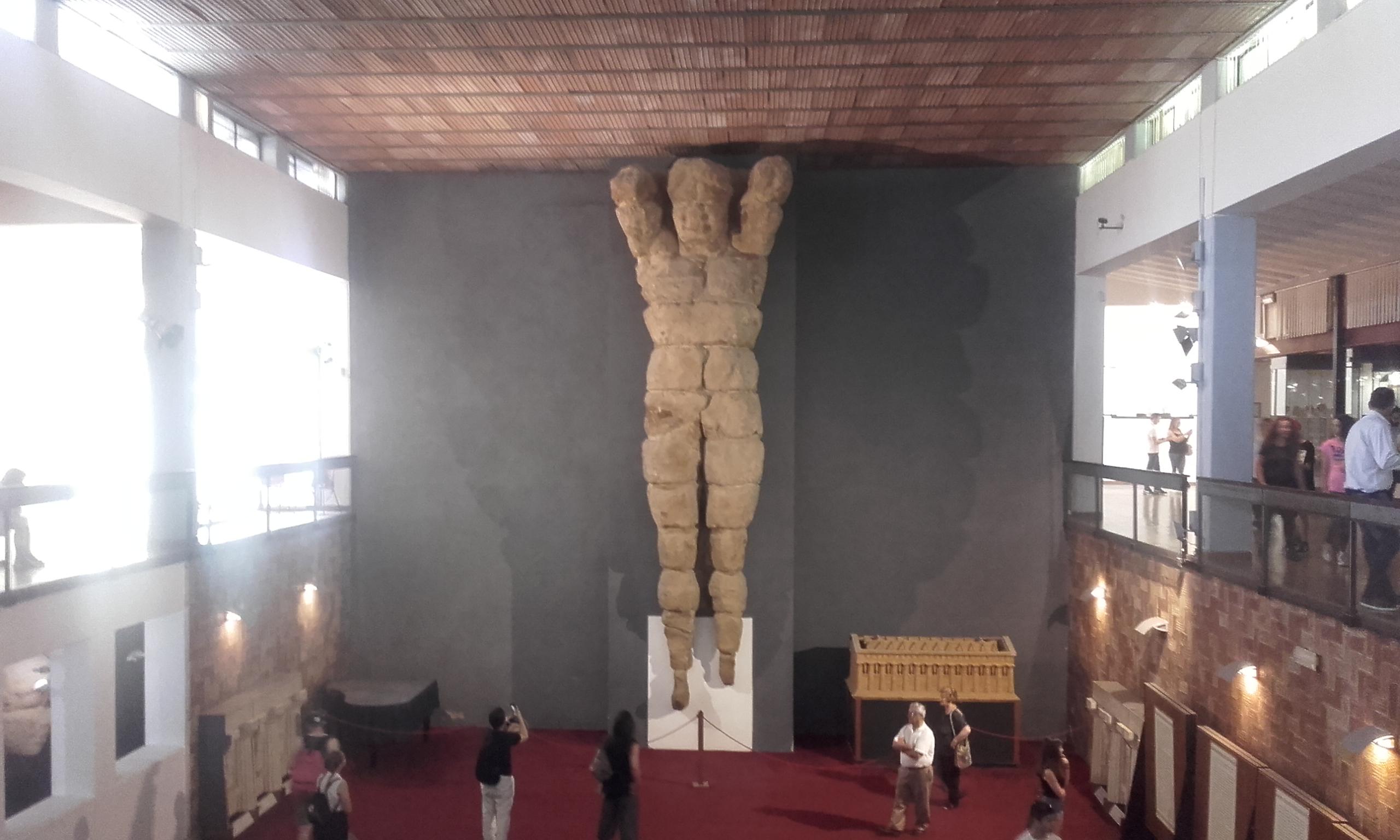 Estatua original del Templo de Zeus Olímpico