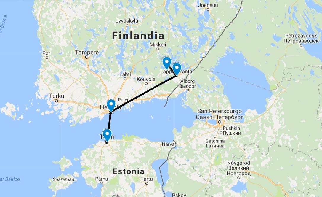 De Finlandia a Estonia