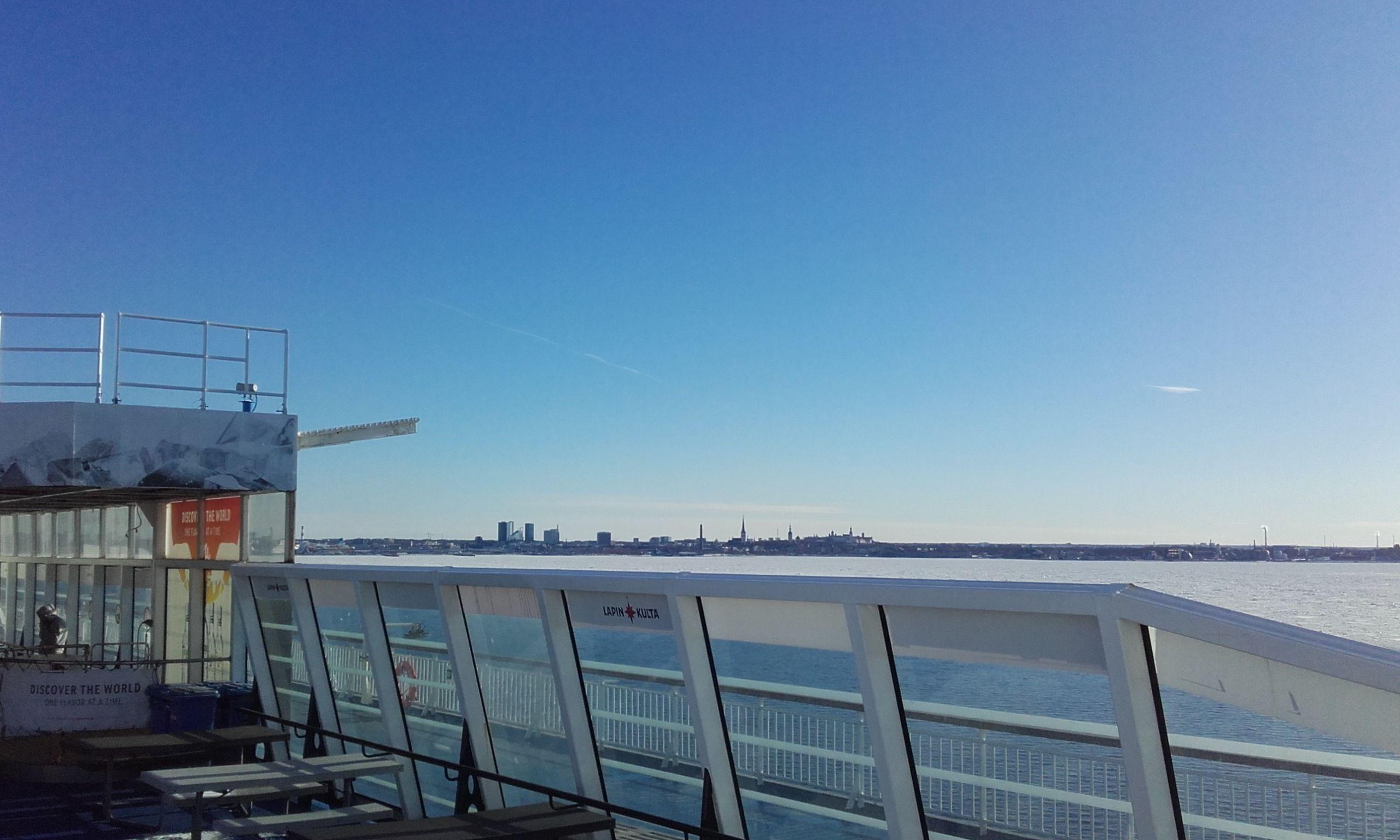 Tallín desde el ferry