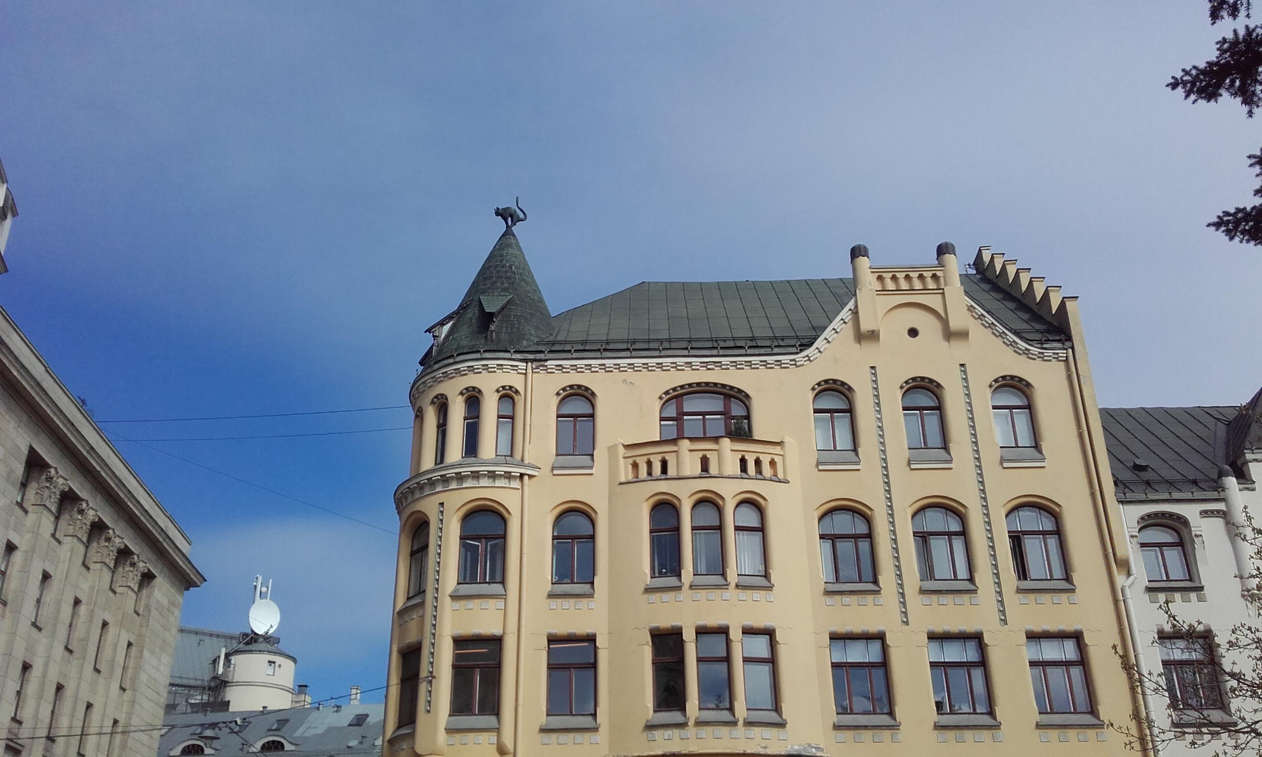Casa de los Gatos de Riga