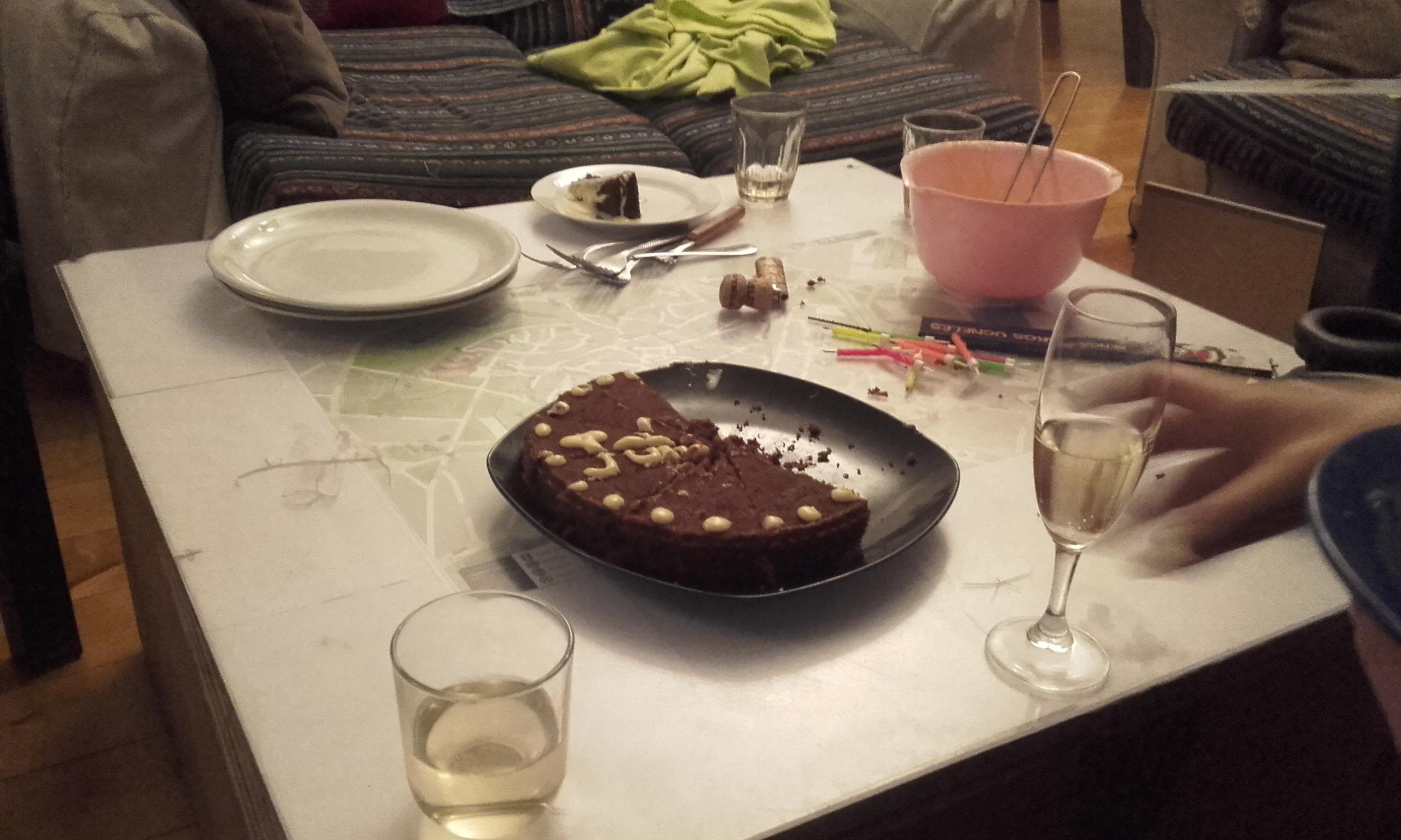 Cumpleaños en Tallinn Backpackers