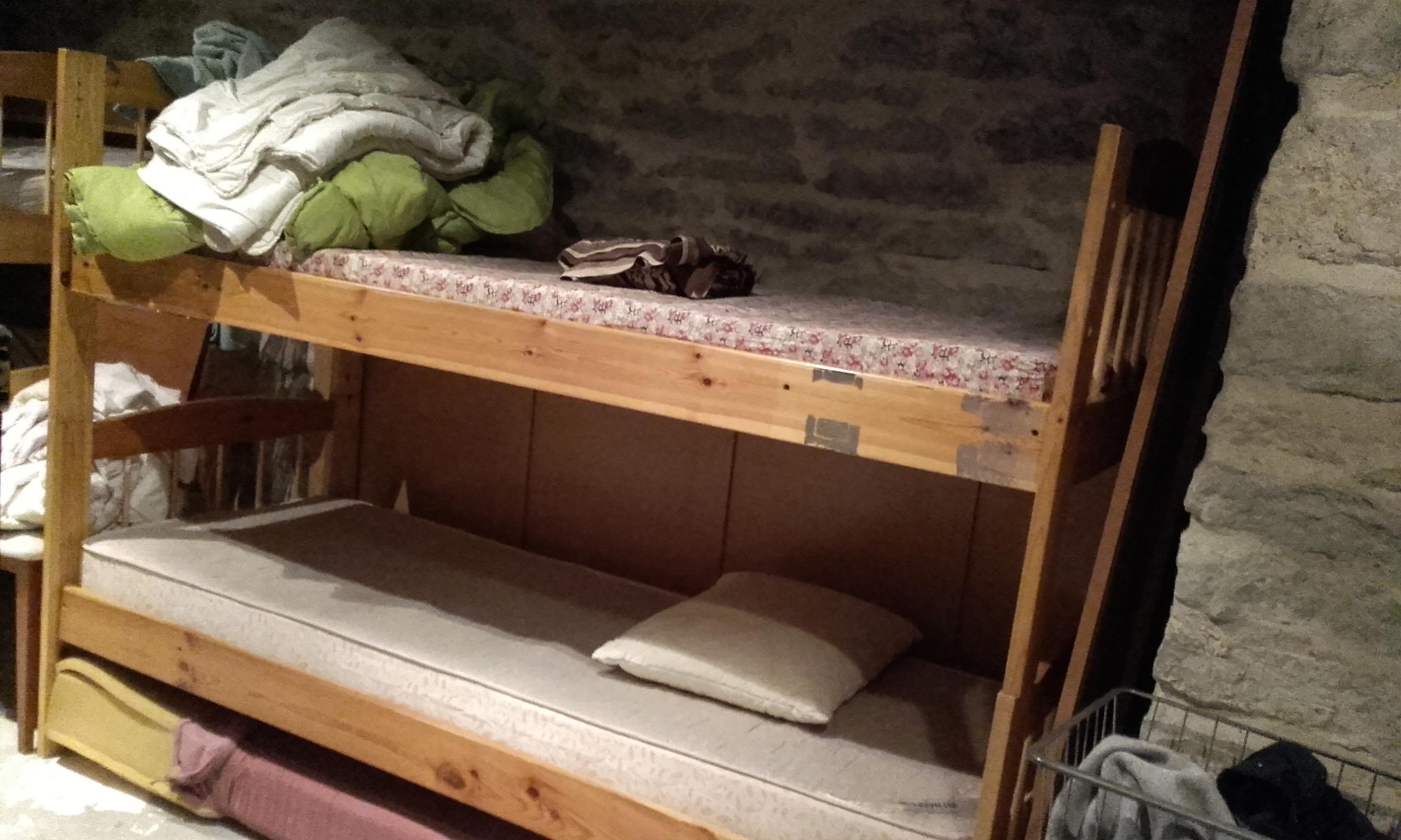 Mi cama en Tallinn Backpackers