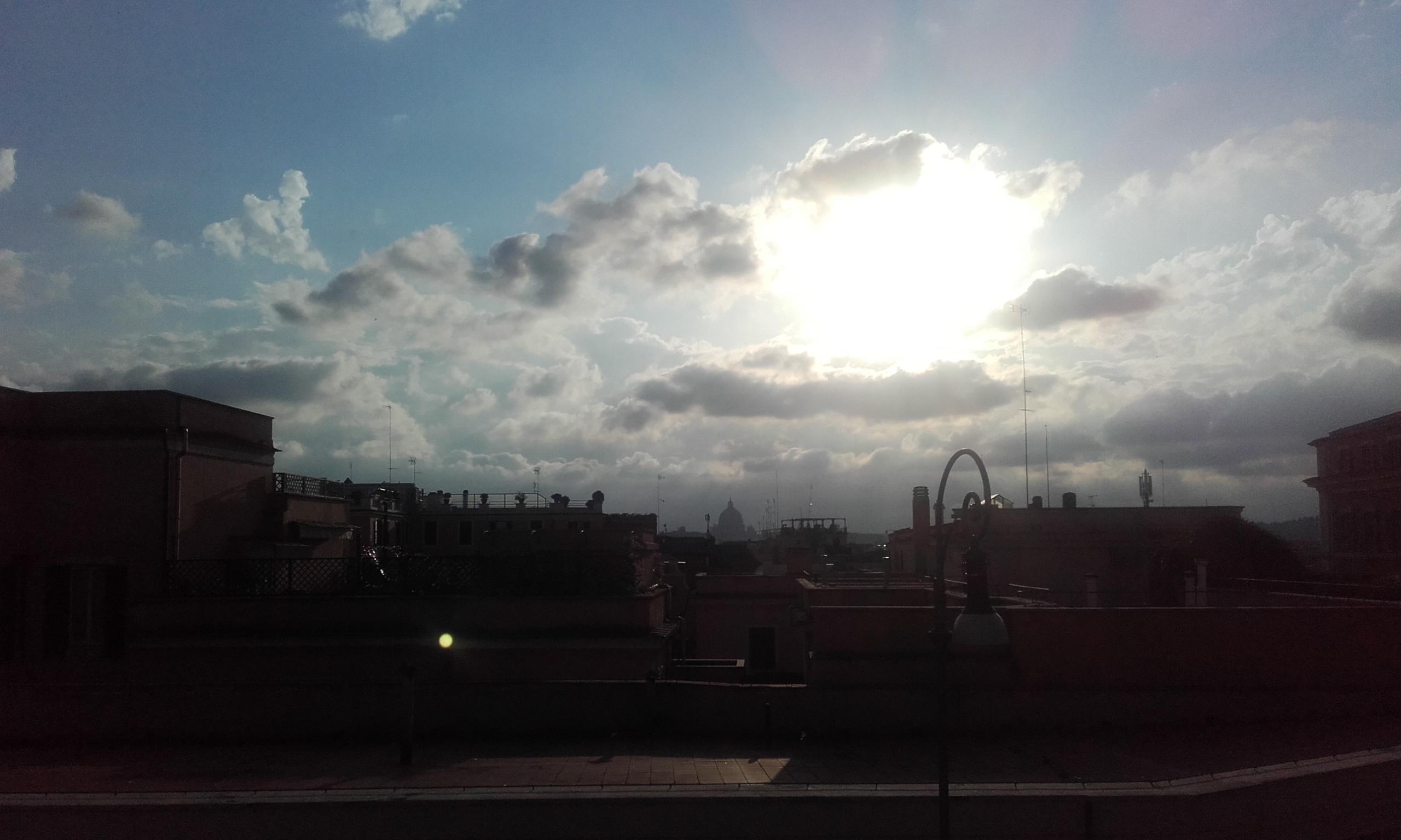 Vistas desde el Palacio del Quirinal