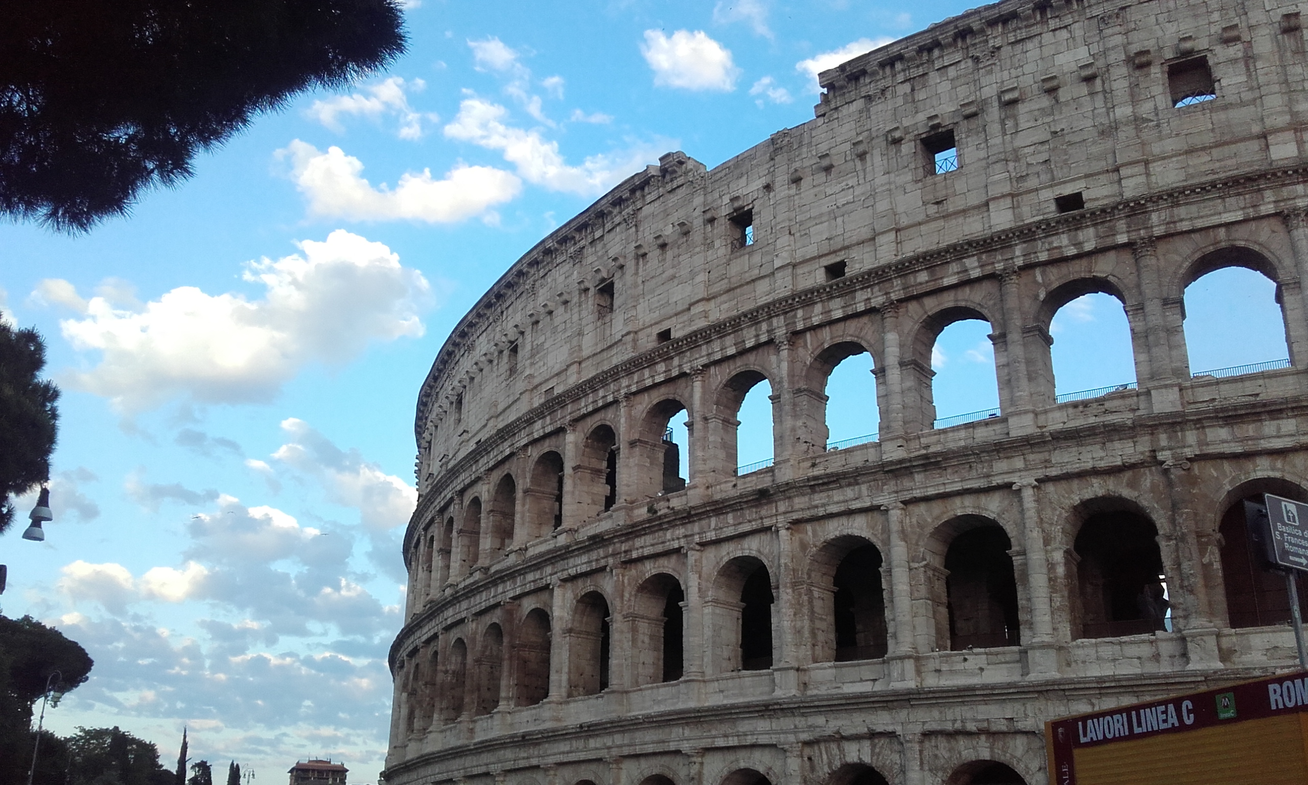 El Coliseo de Roma, en detalle