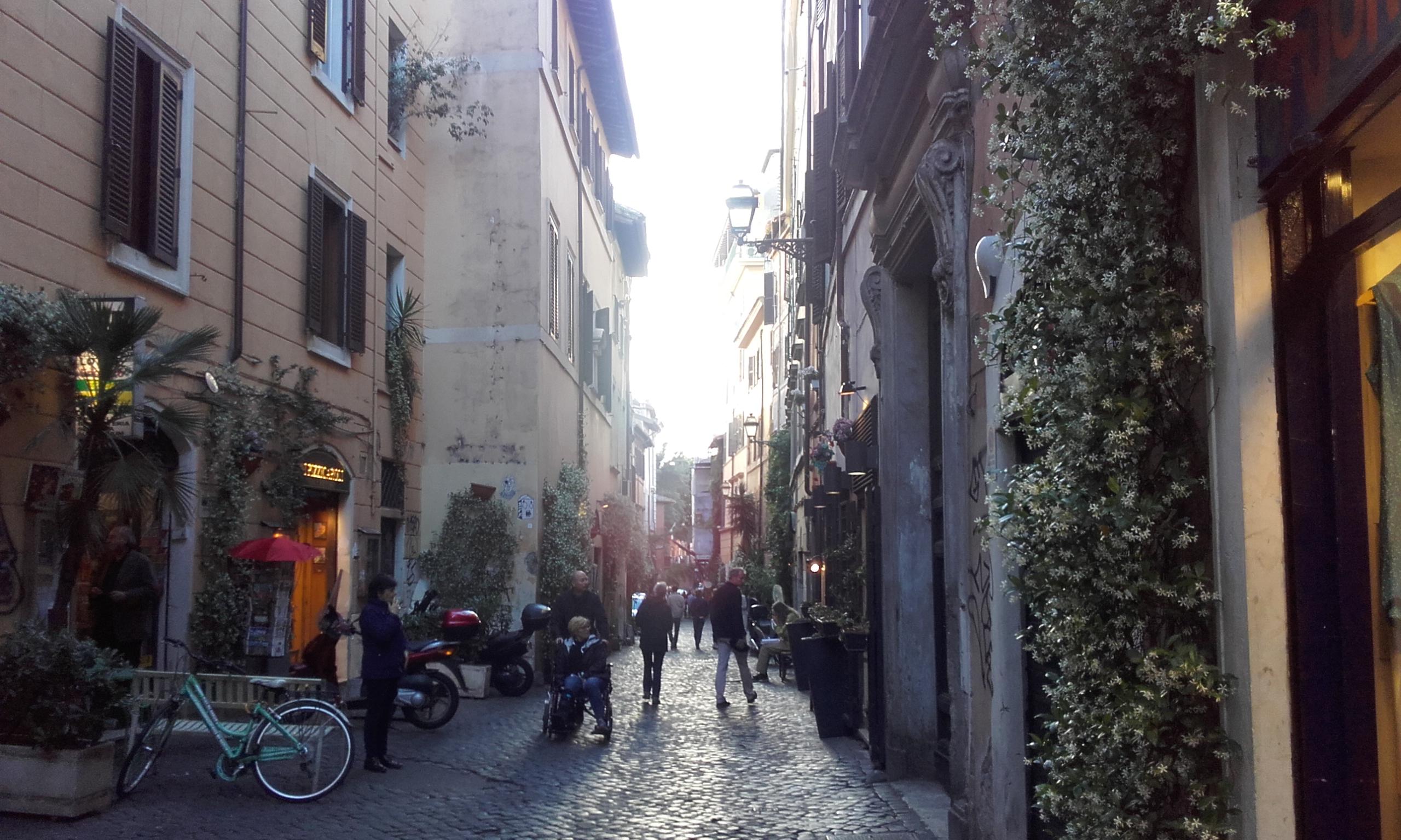 El barrio de Trastevere