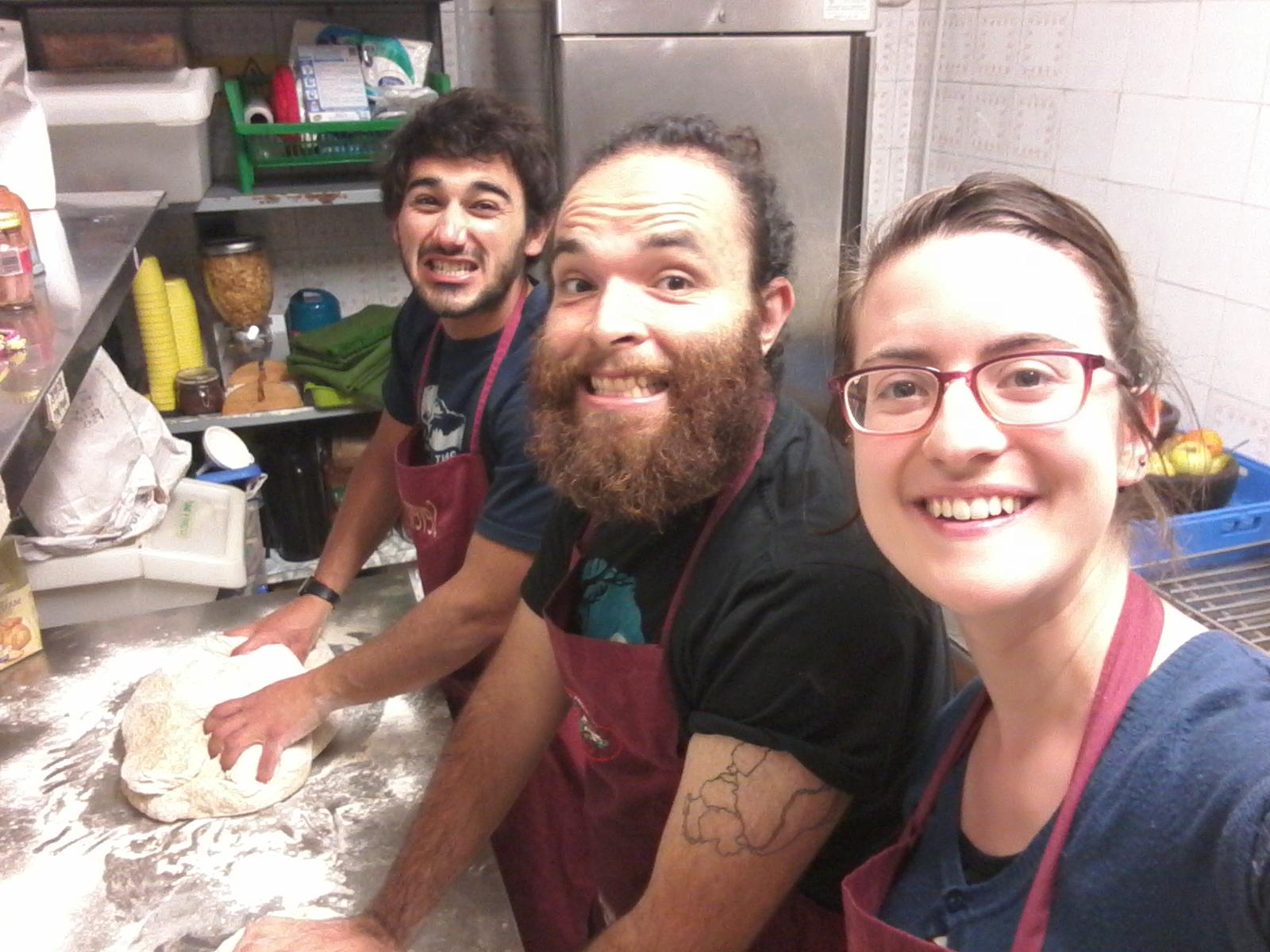 Los cocineros del Wiki Hostel