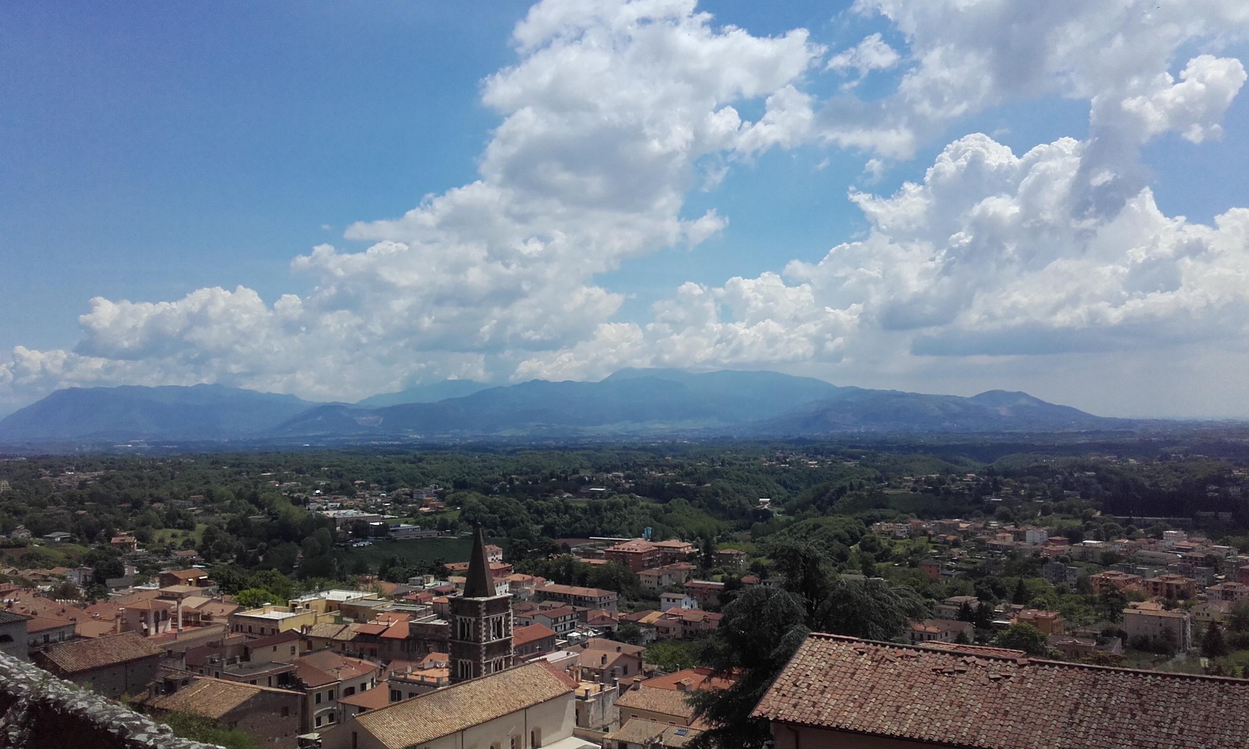 Vistas del valle desde el mirador