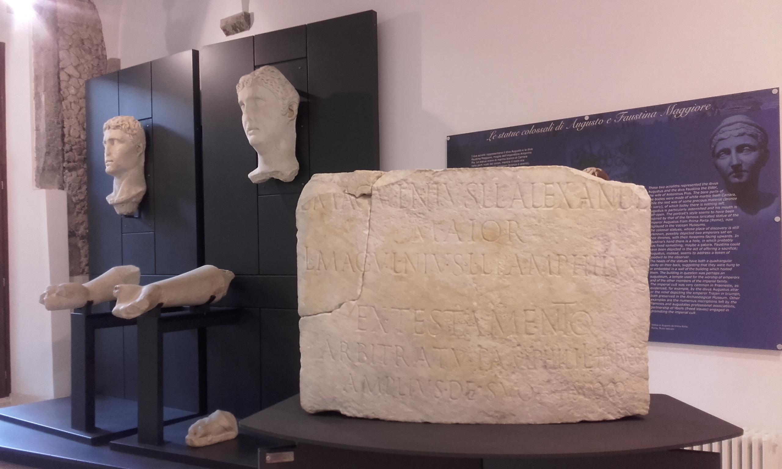 Pequeño museo en el Antro delle Sorti