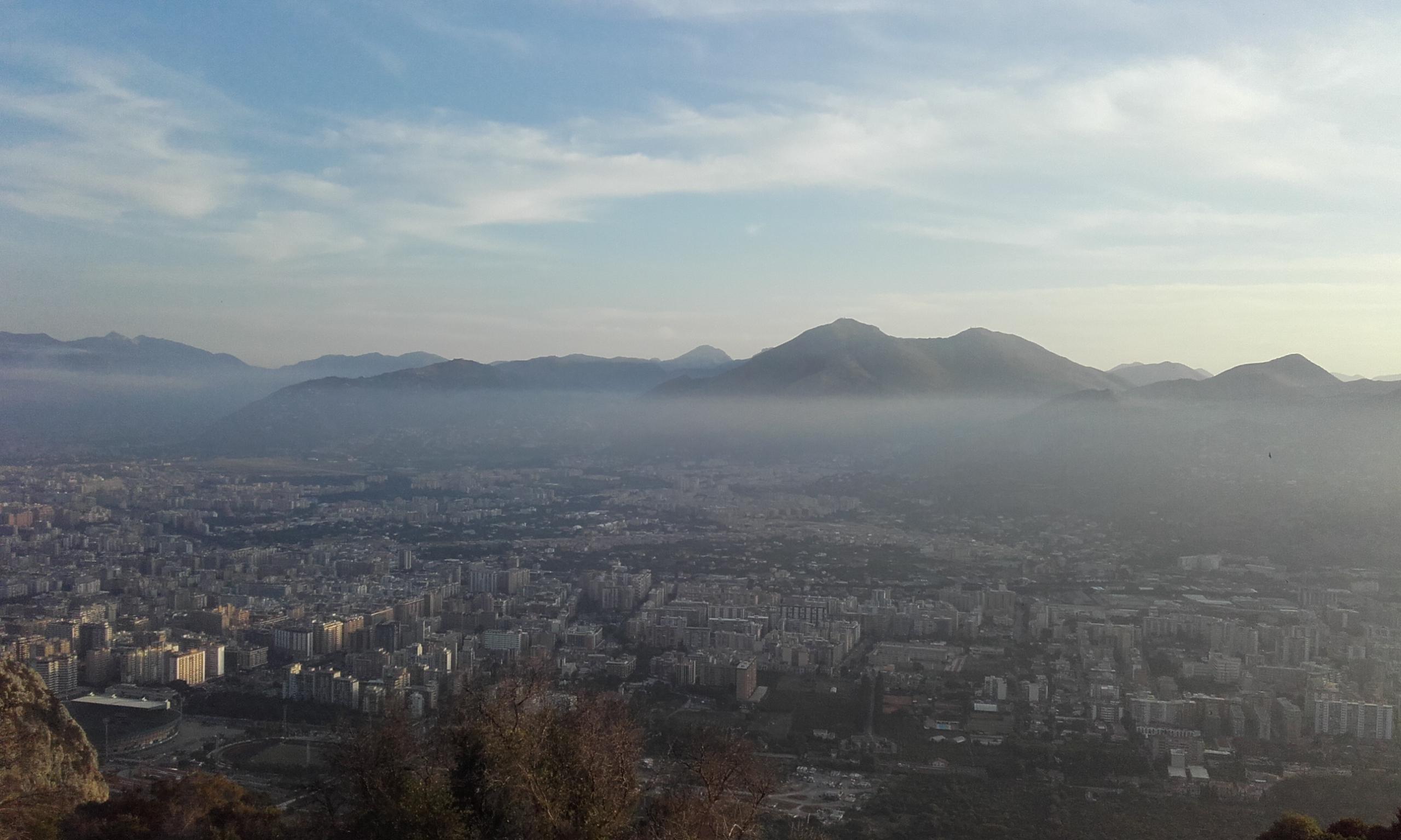 Palermo desde las alturas