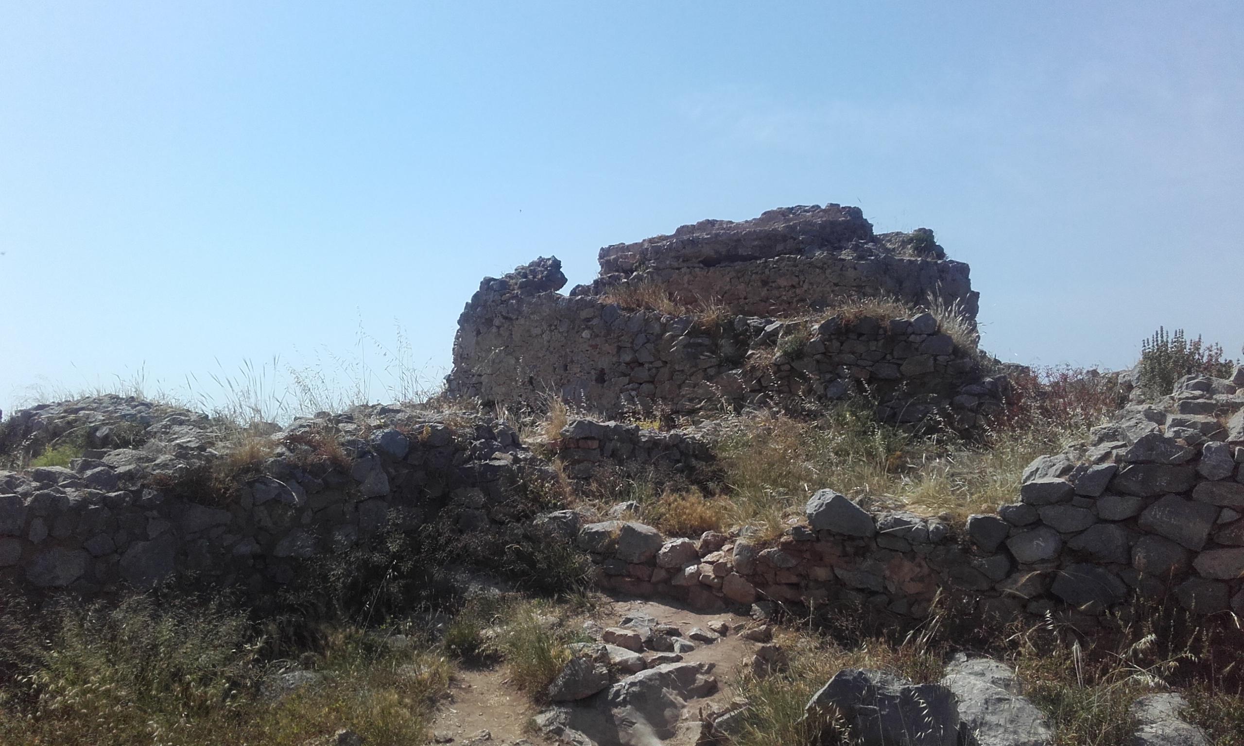 Restos del castillo de Cefalú