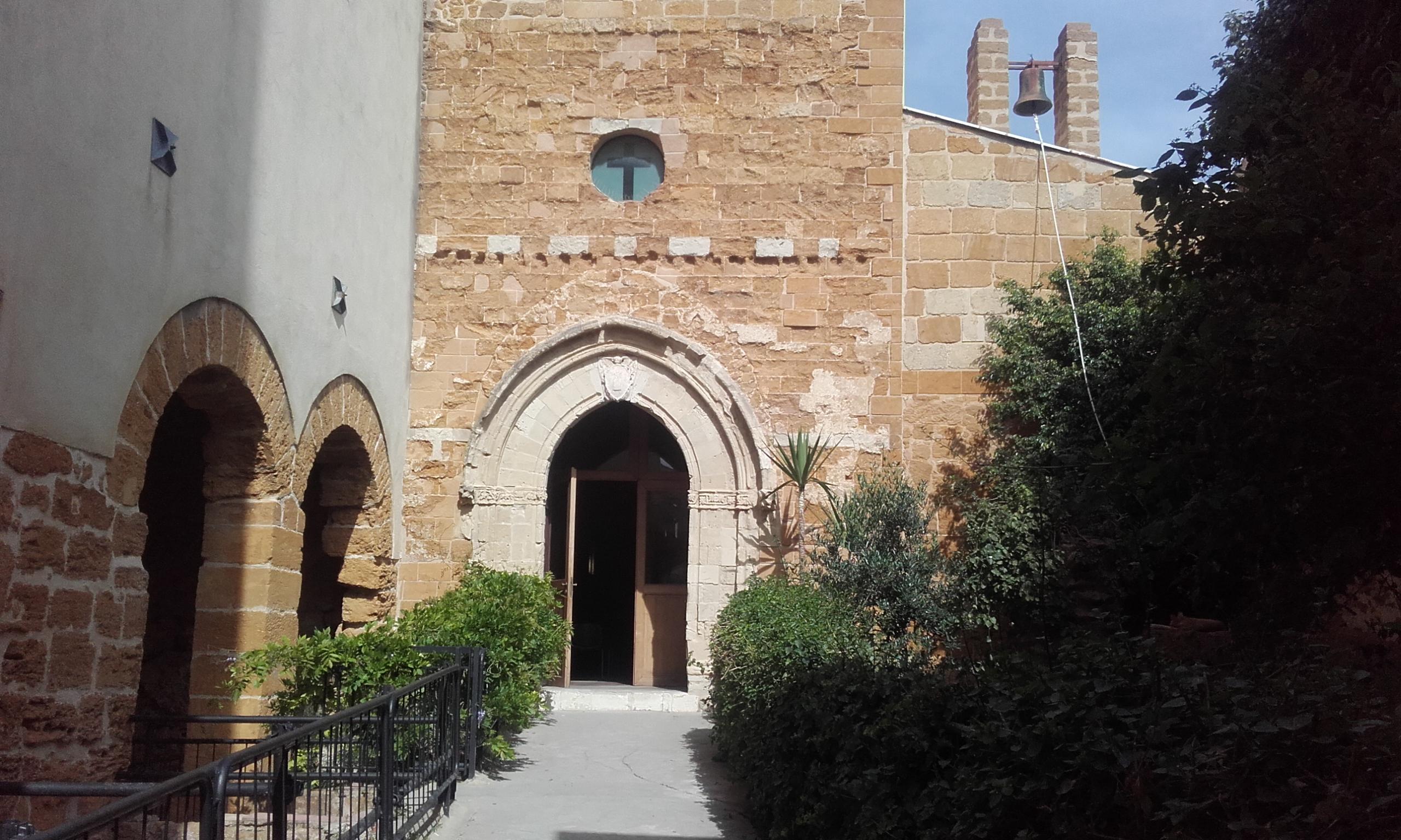 Fachada de la Iglesia de Santa María de los Griegos