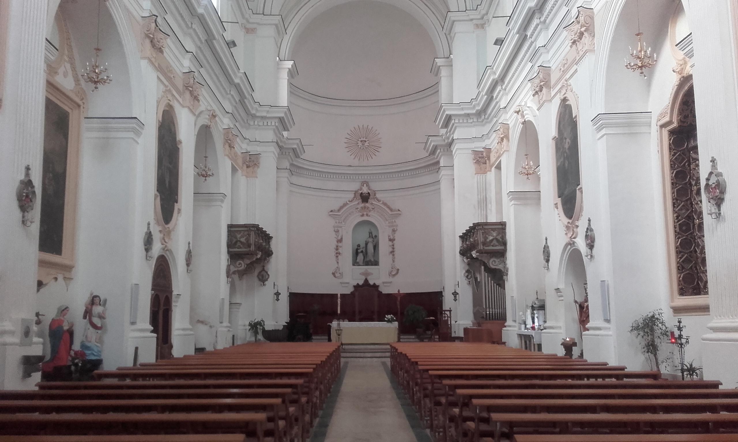 Interior de la Iglesia de Santo Domenico