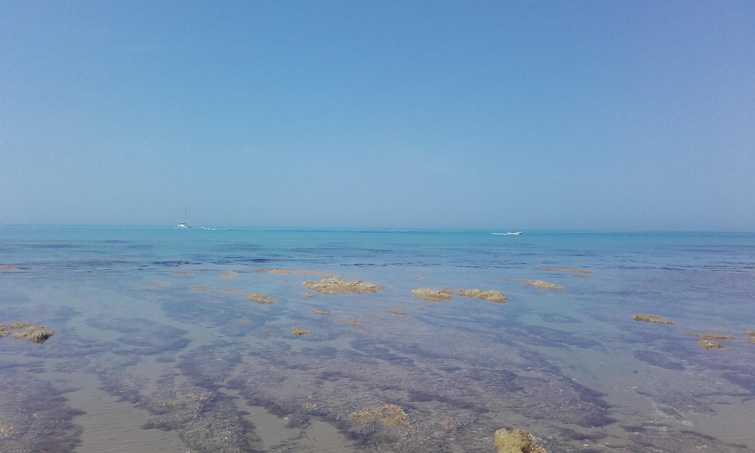 Un ejemplo de la belleza de la playa siciliana