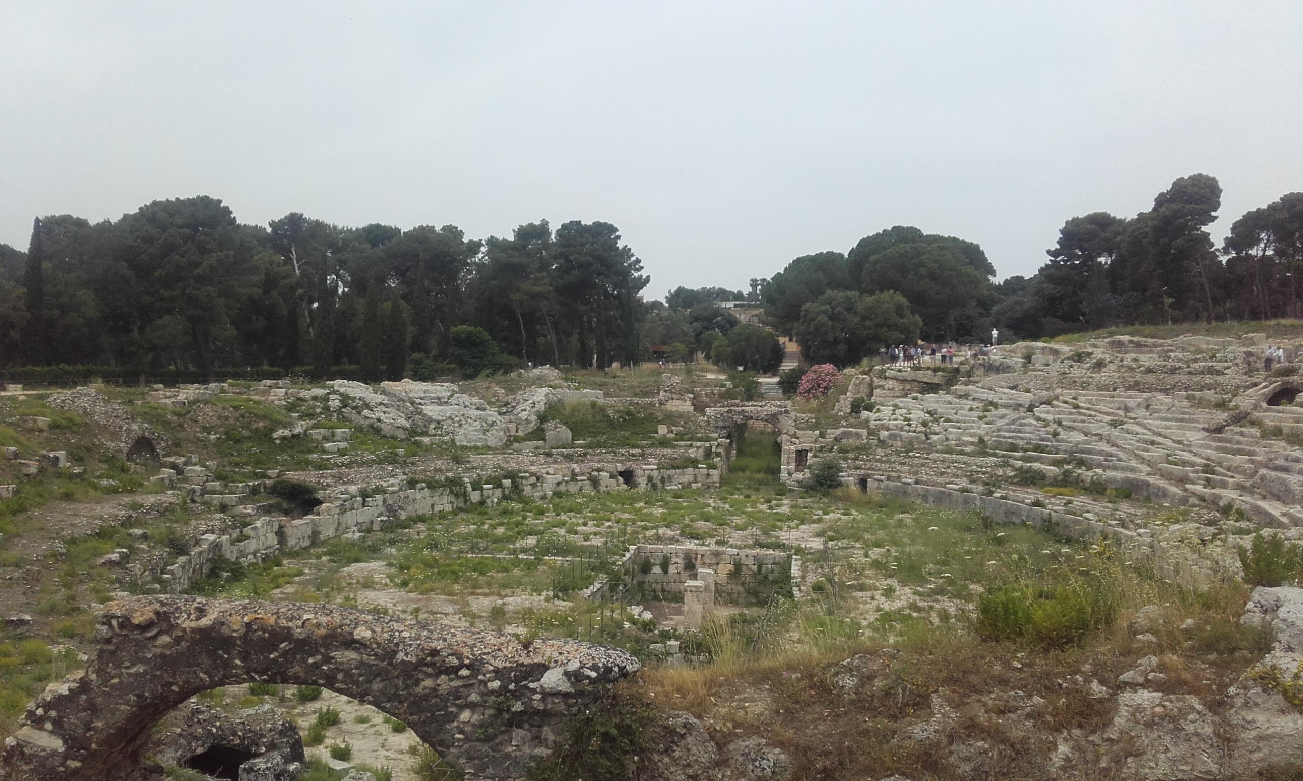 El anfiteatro romano de la Neápolis
