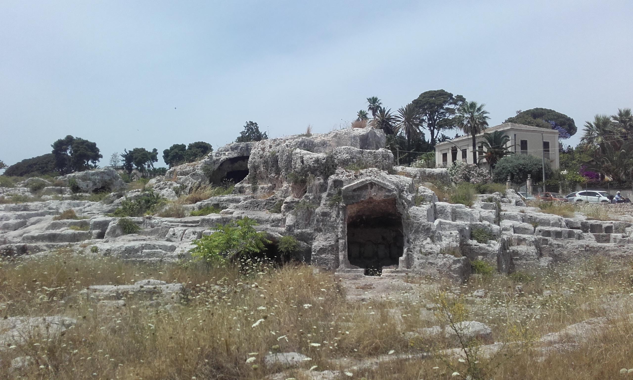 La supuesta tumba de Arquímedes