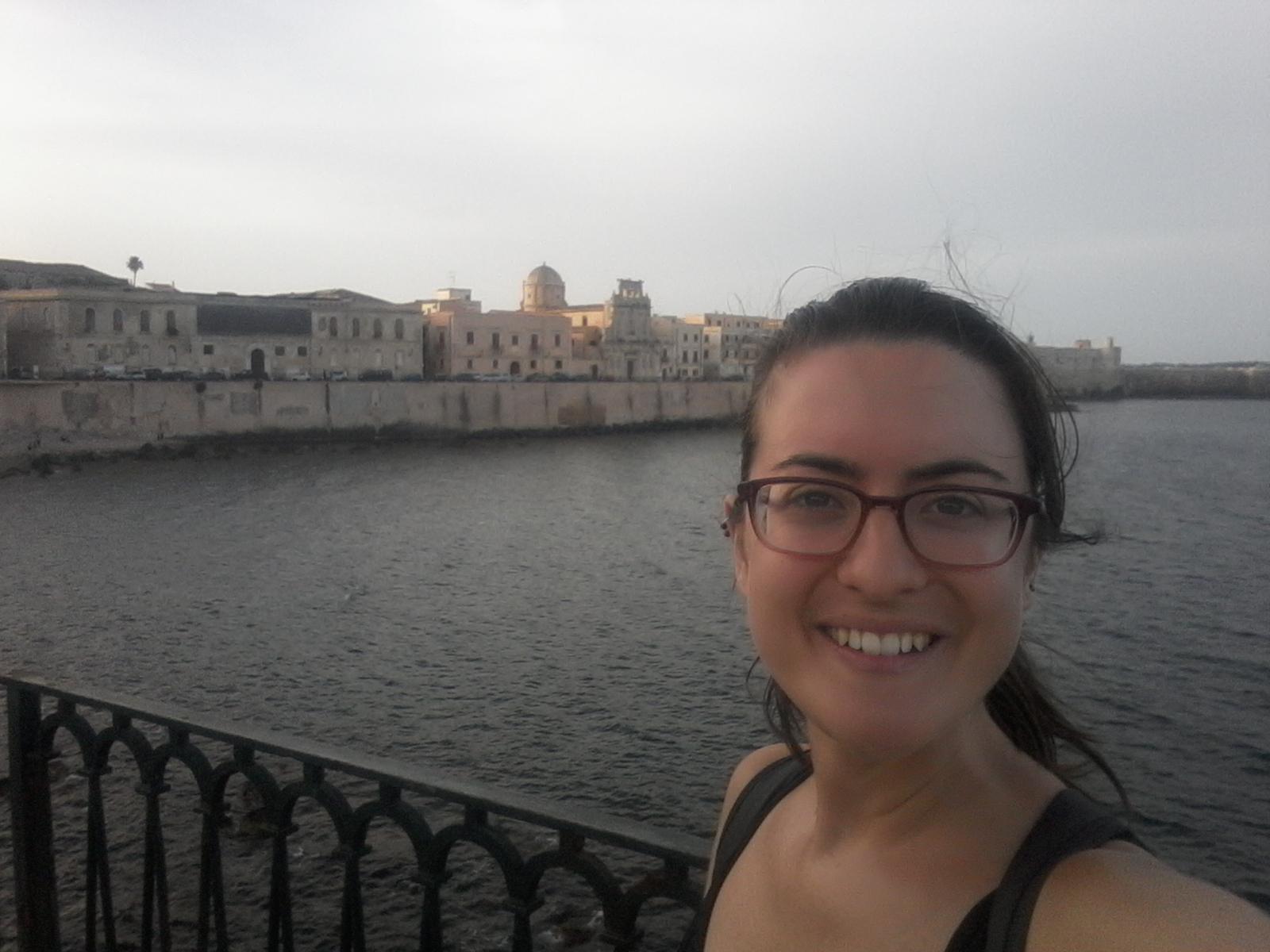 Paseando por Ortigia junto al mar