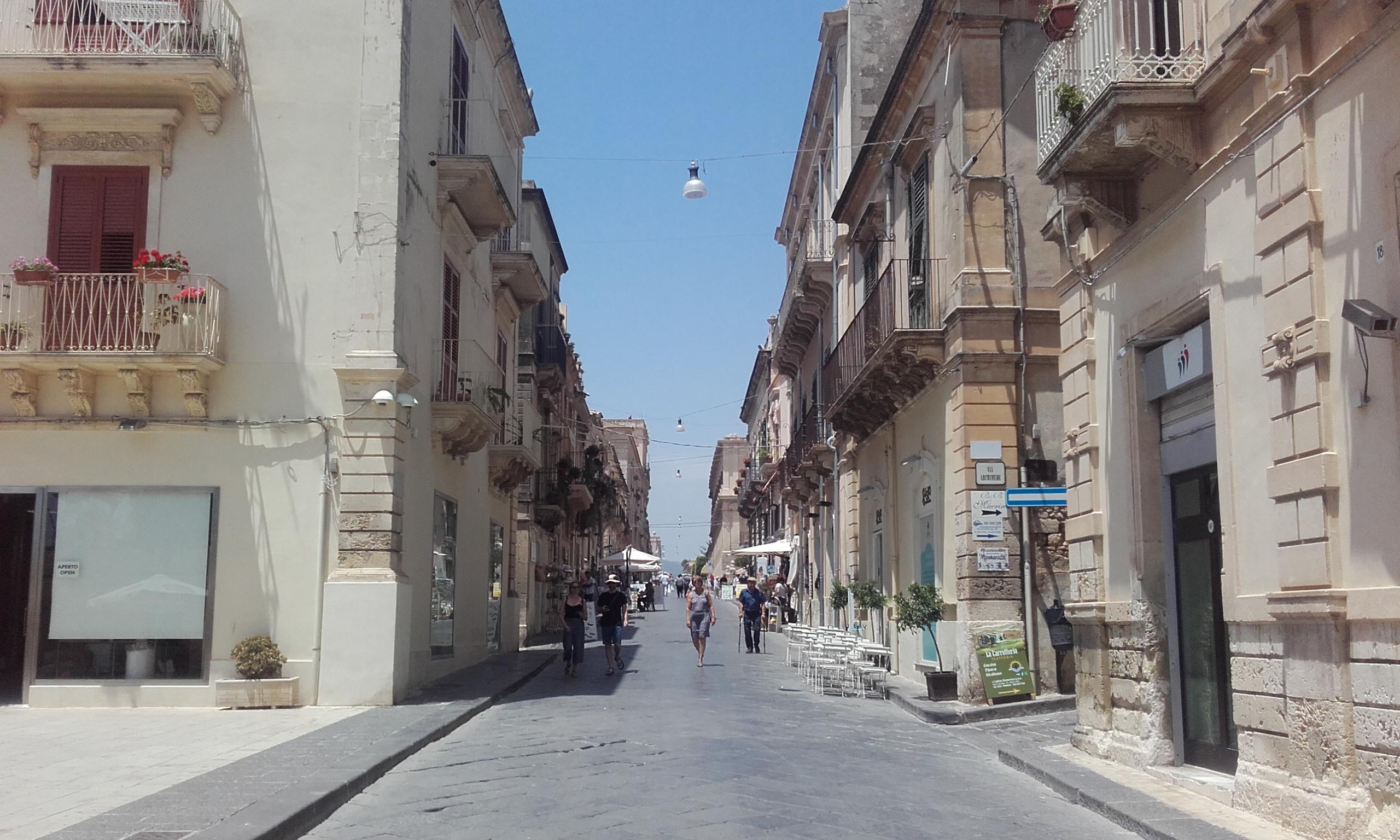Entrada del Corso Vittorio Emanuele