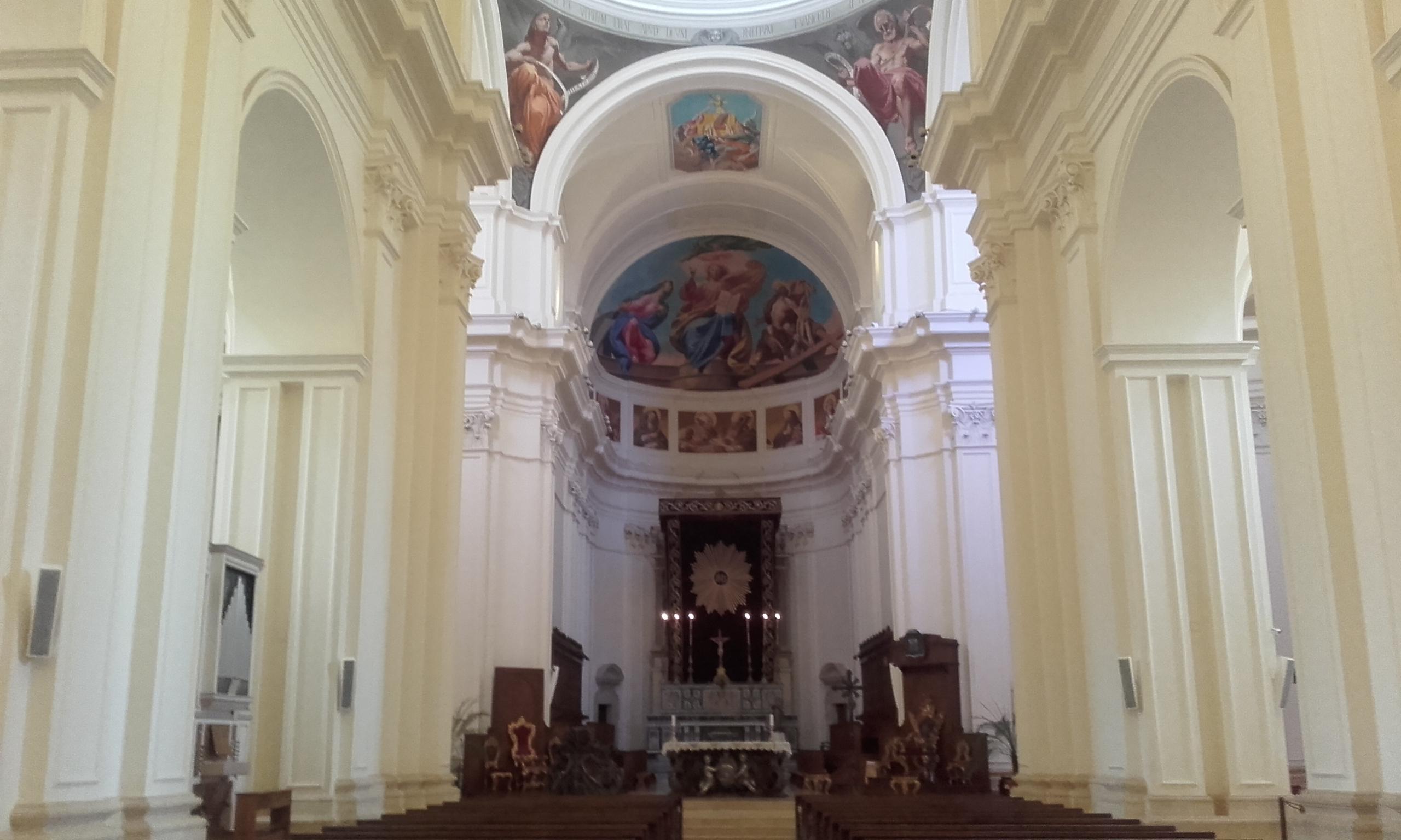 Interior de la Catedral de Noto