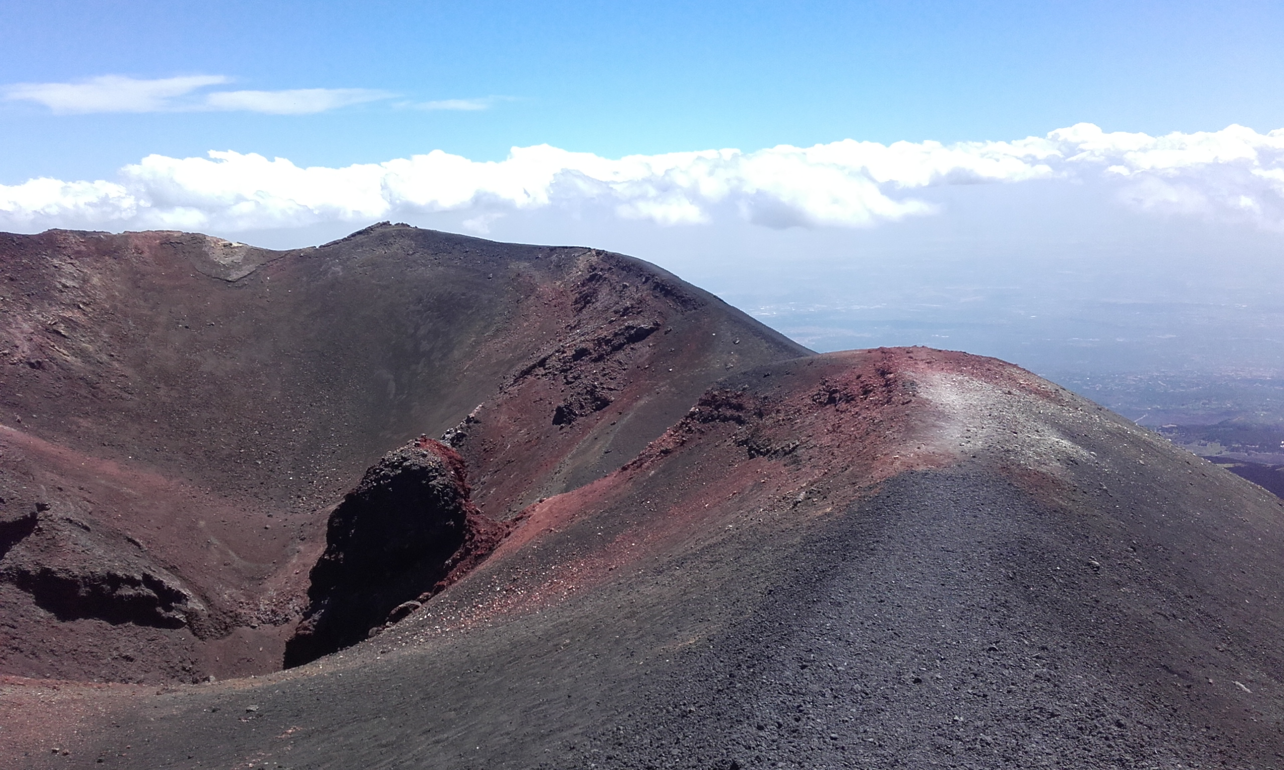 Segundo cráter de la Torre del Filósofo