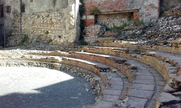 Teatro romano de Odeon