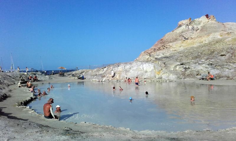 Los baños de lodo de Porto di Levante