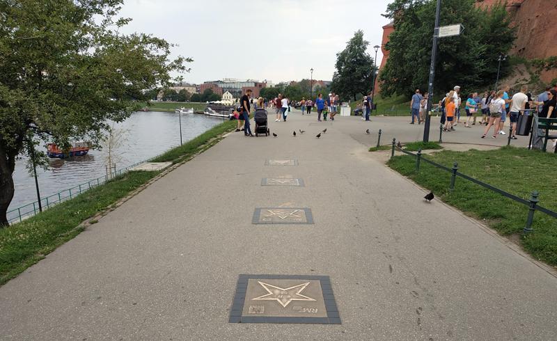 Paseo junto al río Vístula