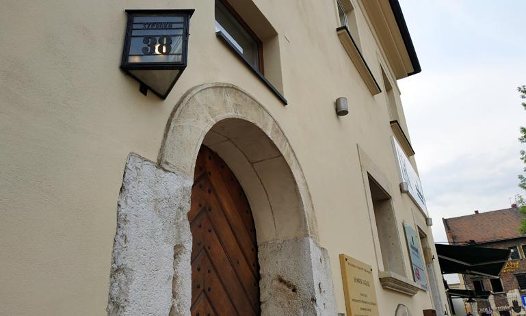 Antigua casa de Henryk Vogler, novelista polaco