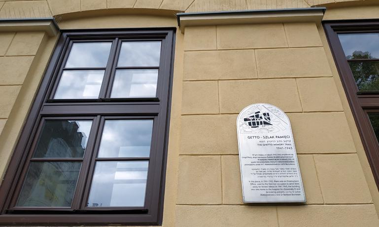 Oficina de empleo que utilizaban los nazis para llevar a los judíos a los campos de concentración