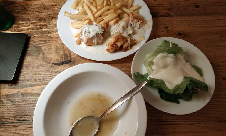 Mi menú (el Zurek ya estaba casi acabado...)