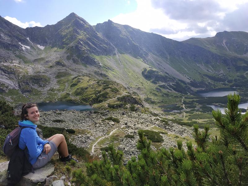 Vistas del valle desde Karb