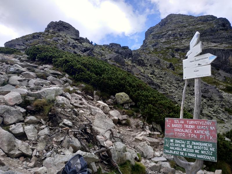 Indicaciones de los diferentes trails desde Karb