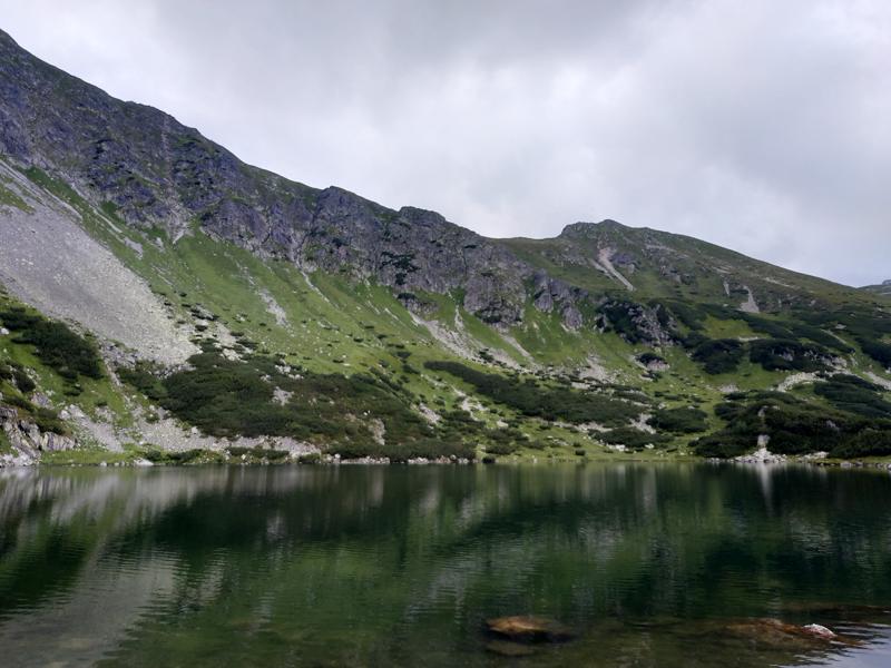 Uno de los lagos del valle